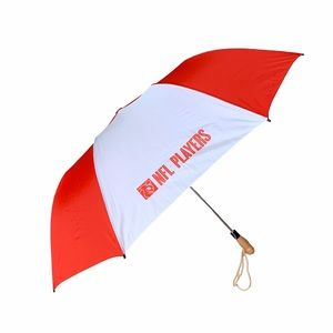 NFL PLAYERS Umbrella wooden handle + carrying case